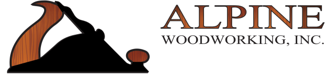 Alpine Woodworking logo